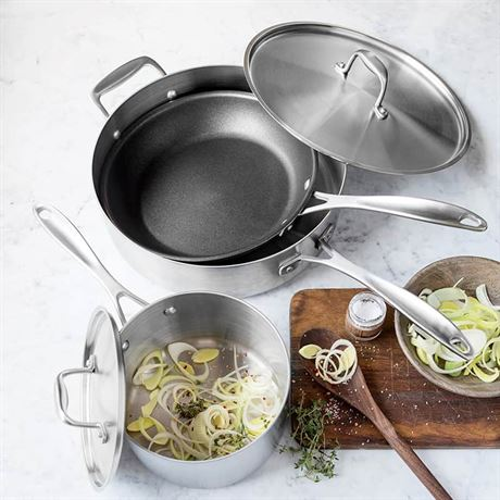 Make Enough for Leftovers Stainless Steel Cookware Set – 5 piece