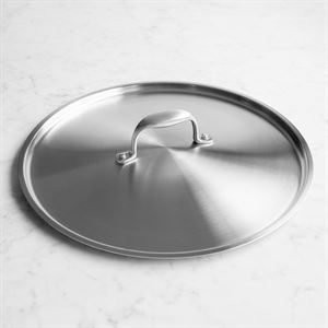 American Kitchen Cookware's 12 inch Stainless Steel Lid Made in USA