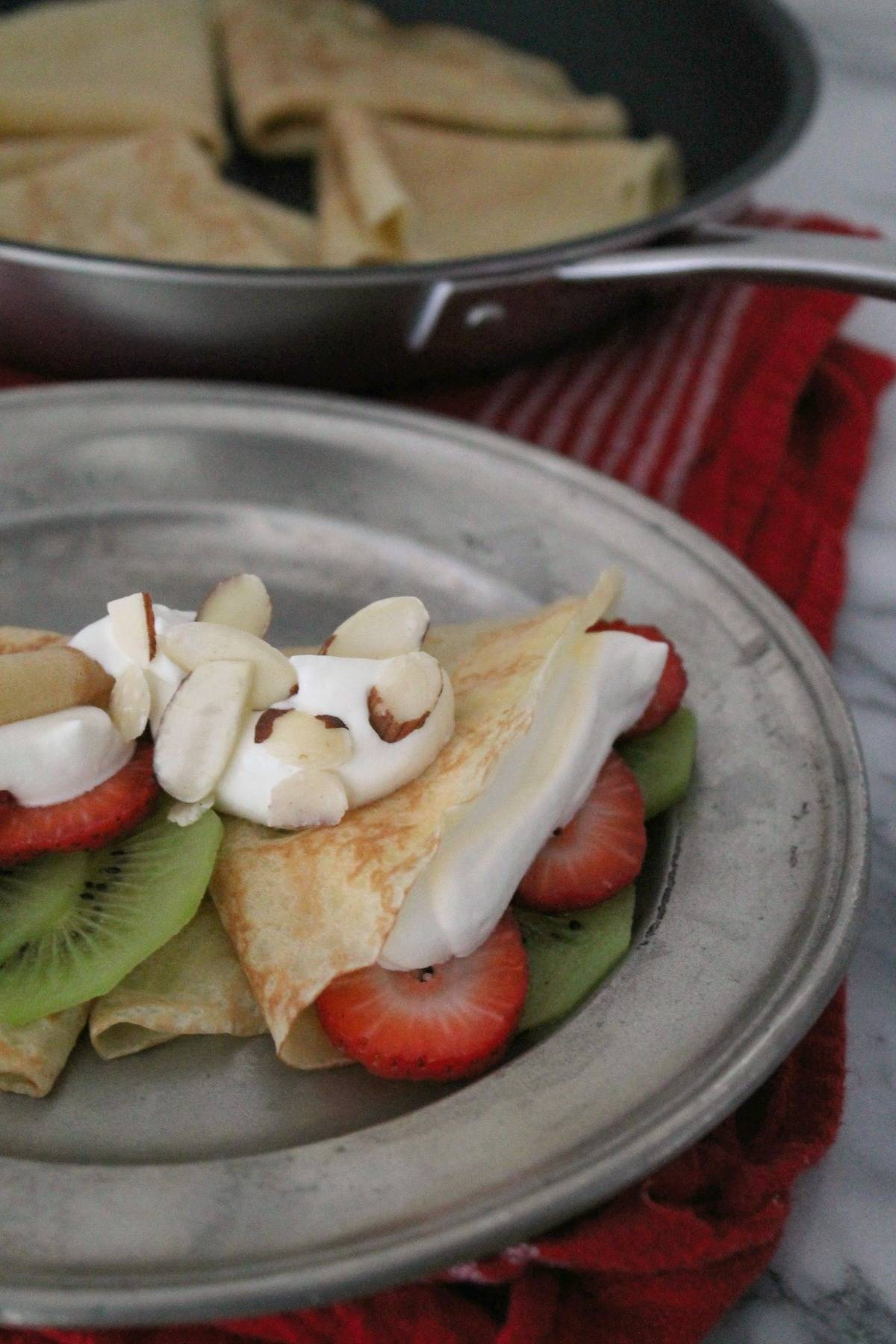 Simple dessert crepes recipe american kitchen cookware for Simple yet delicious dinner recipes