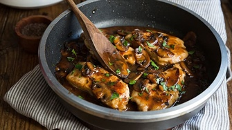 Simple Chicken Marsala