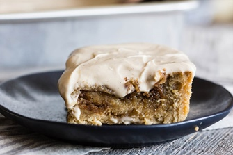 Easy Maple Cinnamon Roll Cake