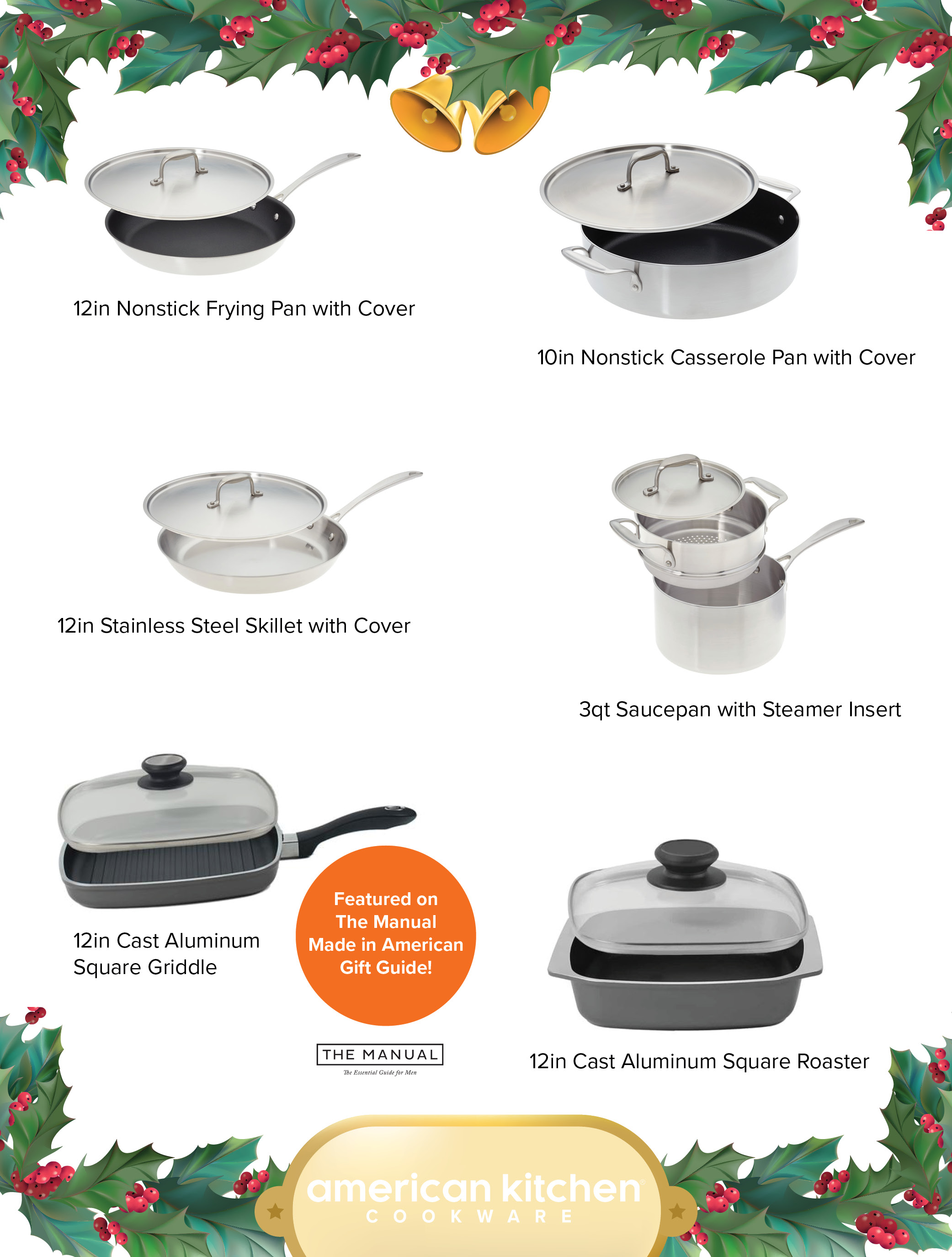 Something for Everyone On Your List - American Kitchen Cookware